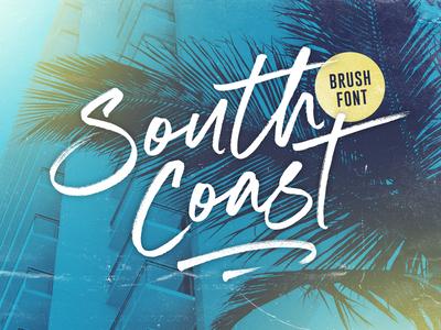 South Coast Brush Font