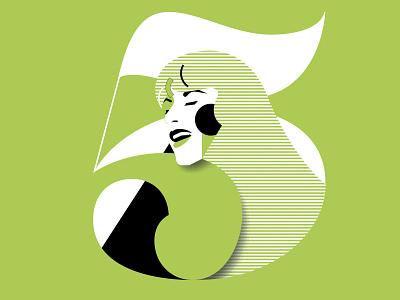 Climate Comedy Night 5 - Ellen ten Damme ellentendamme climatecomedynight portrait art portrait danielroozendaal artist art illustration artwork