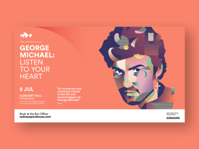 George Michael for Sidney Opera House