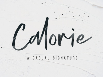Calorie - A Casual Signature