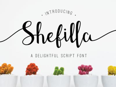Shefilla - Handdrawn Script