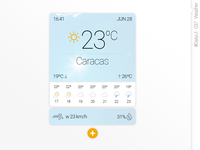 #DailyUI #037 #Weather