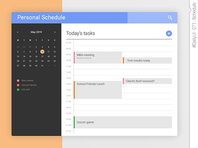 #DailyUI #071 #Schedule daily ui 071 dailyui071 dailyui 071 web design ux interface design app design app daily ui ui dailyuichallenge daily 100 challenge dailyui schedule