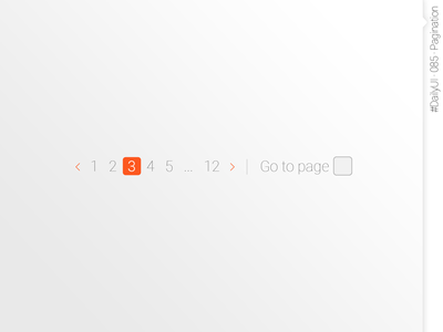 #DailyUI #085 #Pagination daily ui 085 dailyui085 dailyui 085 pagination web design design interface design ui daily ui dailyuichallenge daily 100 challenge dailyui