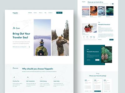 Travel Planner Preview design branding website design graphicdesign user interface ui web uiux clean ui website webdesign tourism travel app travel landing page