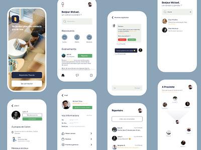 !Teoola app - Rebuild ui ux designer app design app ux design ux mobile app mobile ui ui ux ui design design