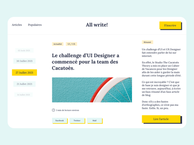 UI Design of Blog Post serif article mobile ui ux ui blog post blog post blog design web design ux design ui design ux ui