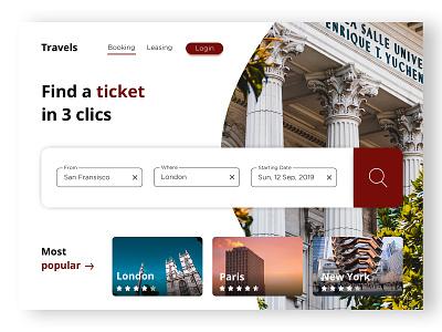 Booking Travel Website web desgin webdesign airbnb minimalist ui ux designer ui ux ui design travel booking web design website web site design site uxdesign uidesign ux uiux ui design