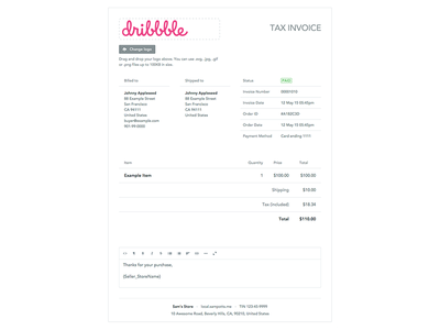 Invoice tax receipt tax invoice invoicing tax receipt invoice