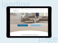 Concept for Multi family flooring Website