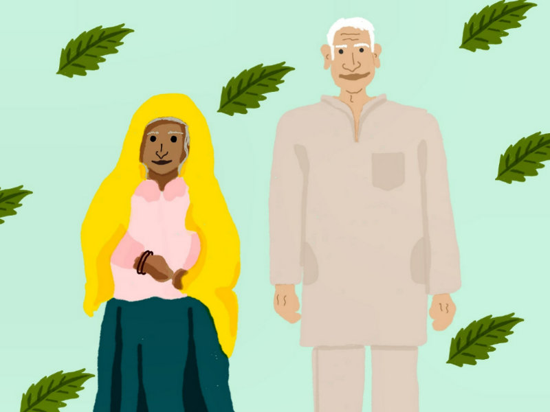 Grandparents sketch