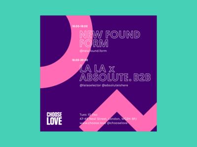 Choose Love Instagram poster 1