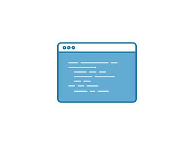 Code Editor browser illustration code editor