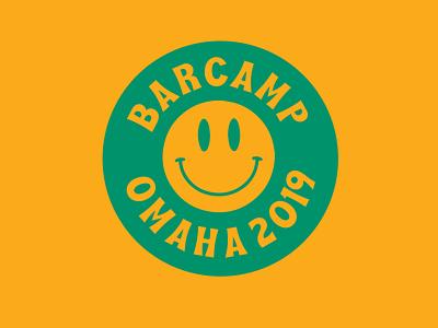 Barcamp Omaha 2019 1970s omaha barcamp identity branding identity logo