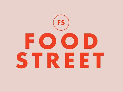 Food Street magazine ad foodie editorial magazine omaha identity logo design branding street food