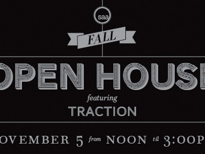 saa Open House Invitation