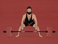 Sumo Deadlift Illustration