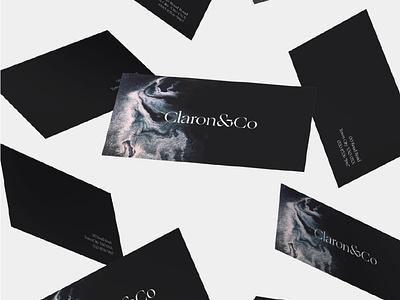 Claron & Co wip logo brand agency branding agency typography branding