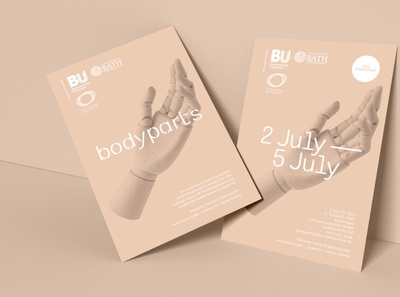 Exhibition branding for BU, by Parent.