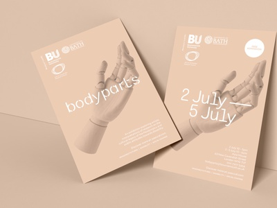 Exhibition branding for BU, by Parent. logo exhibition design agency branding agency brand design brand agency typography branding design