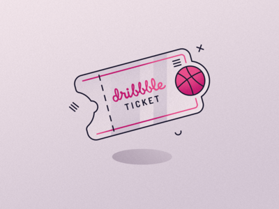One Ticket - Dribbble 2019