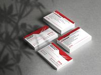 Constantina Paraskeva - Optometrist   Business Cards