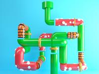 Mario's Tube