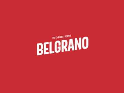 Belgrano // Café-Birra-Vermú