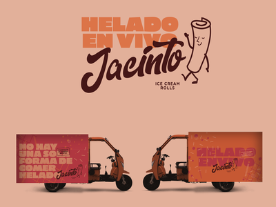 Ice cream rolls / Jacinto