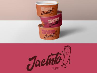 Ice cream rolls / Jacinto