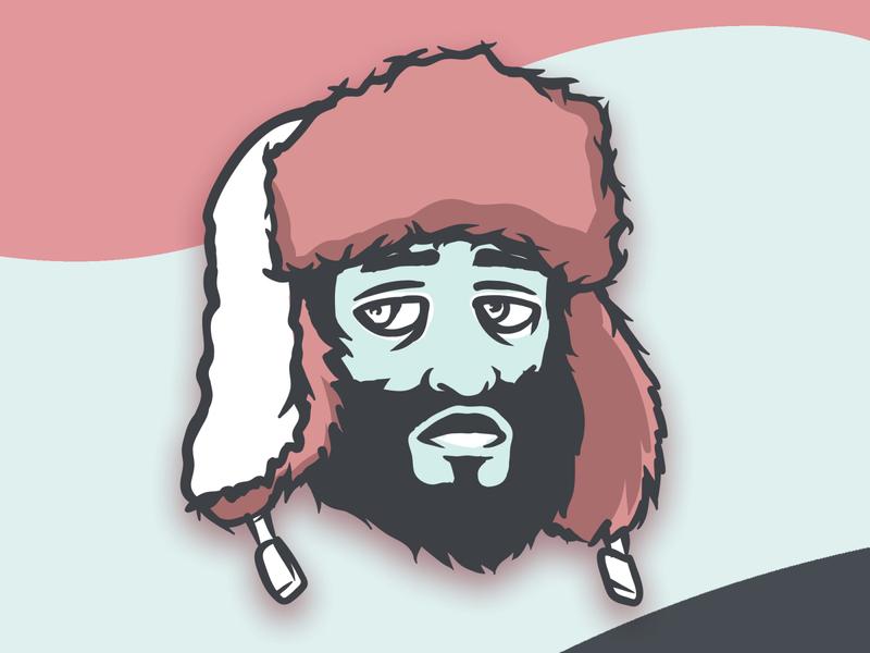 Him - Sticker Design