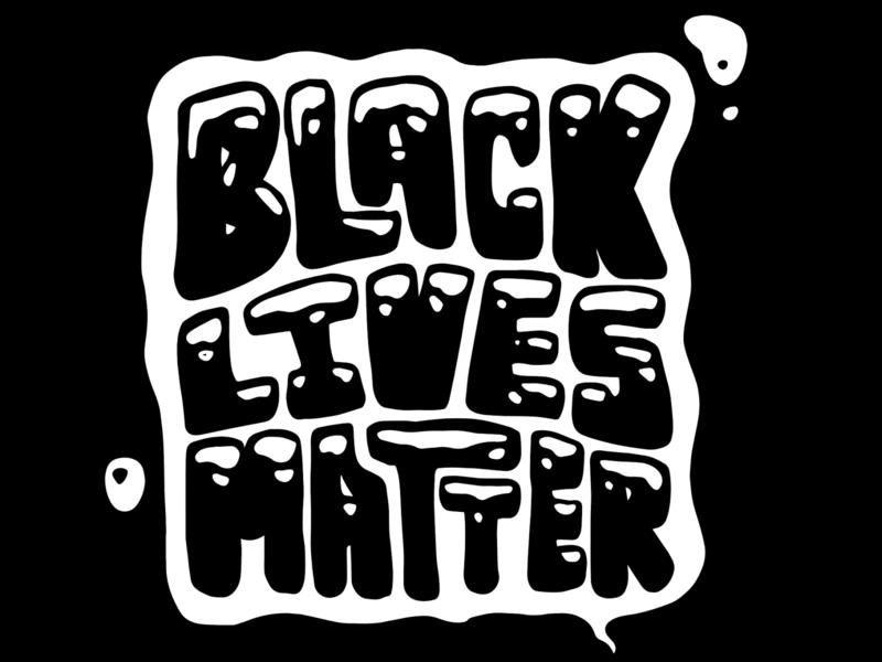 Black Lives Matter type illustration blacklivesmatter