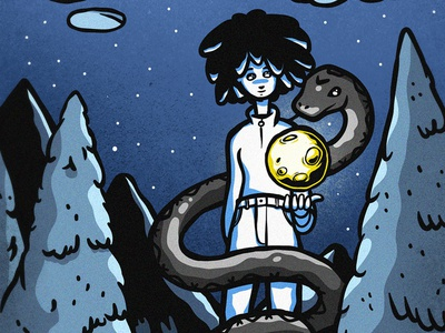 The night sky filled with light snake moonlight sky night afro africa moon