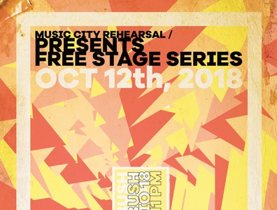 Free Stage Series Poster