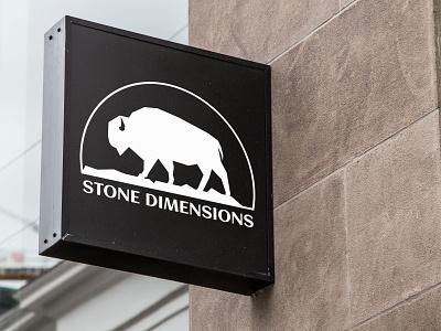 Stone Dimensions vector brand identity identity design logo design logo branding brand design brand