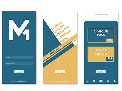 M1 user experience app design app design ux uidesign user interface ui