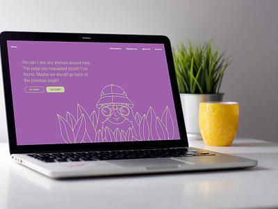 404 page web webdesign design vector ui user interface dailyui