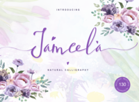 Jameela - Script Signature Font