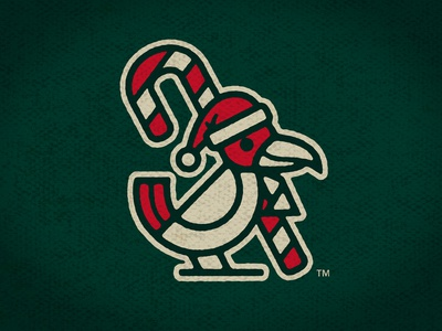 Crimson Feather Christmas Logo