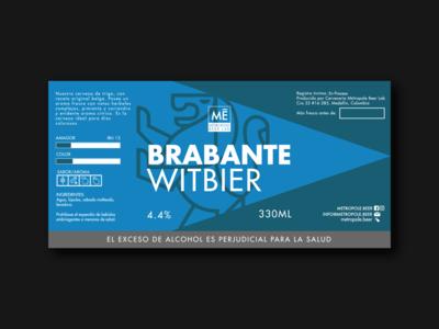 Brabante Witbier   Metropole Beer Lab