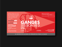 Ganges Session Red IPA | Metropole Beer Lab
