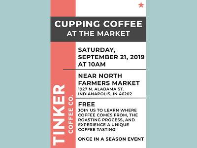 Tinker Coffee Poster Challenge typography design