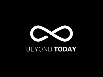 Beyond Today Financial Planning flat vector website start up design logo illustration typography minimal branding