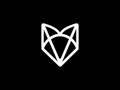 Silverfox illustrator illustration design logo app icon ux ui minimal branding