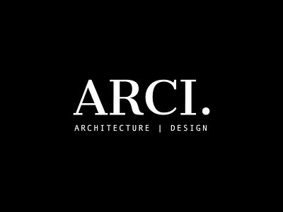 Arci Magazine magazine black and white design serif typeface typography logo minimal branding architecture
