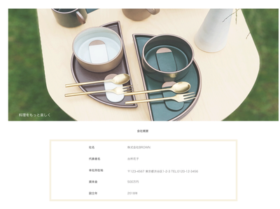 about for Kitchenware store