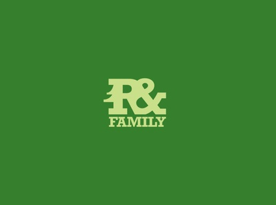 R and Family Tree Service - logo logo designer logo mark minimal logo design typography vector logo icon design branding