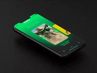 Hulu UI series : 03 - phone browsing page app design iphone app iphone hulu ui design ui animation web designer web design website website design animation web app ux ui
