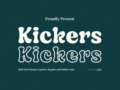 Kickers - Bold Serif Typeface