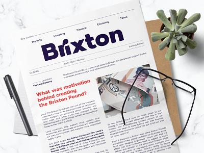 London Bridge - Modern Sans Family font branding clean typography print header news headline body text display font modern font family sans serif font layout newspaper layout newspaper